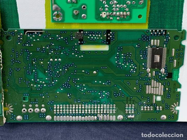 Varios objetos de Arte: OLEO CON BUDAS TAILANDIA PLACAS BASE SONY SERIE CIBERTRONIA 2008 CIUDAD RASCACIELOS 40X80CMS - Foto 11 - 265955453
