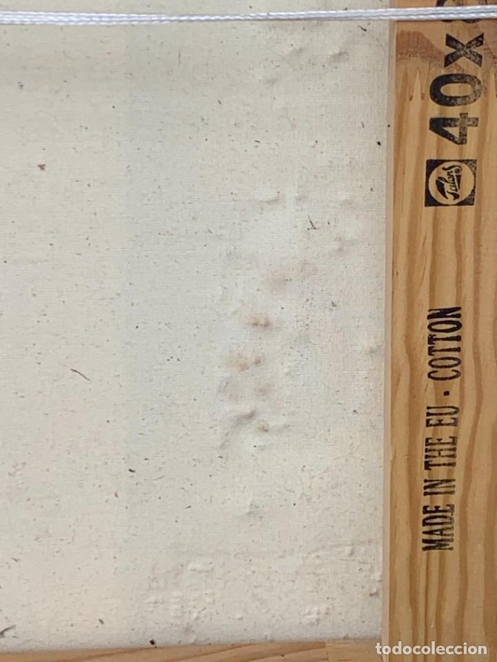 Varios objetos de Arte: OLEO CON BUDAS TAILANDIA PLACAS BASE SONY SERIE CIBERTRONIA 2008 CIUDAD RASCACIELOS 40X80CMS - Foto 23 - 265955453