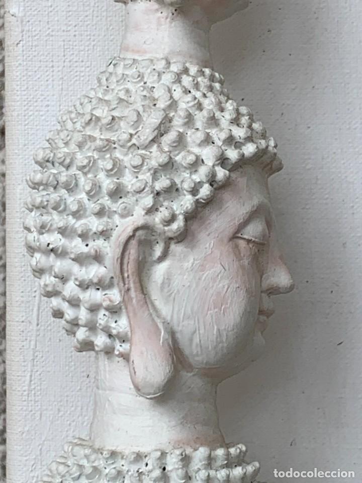 Varios objetos de Arte: OLEO CON BUDAS TAILANDIA PLACAS BASE SONY SERIE CIBERTRONIA 2008 CIUDAD RASCACIELOS 40X80CMS - Foto 31 - 265955453