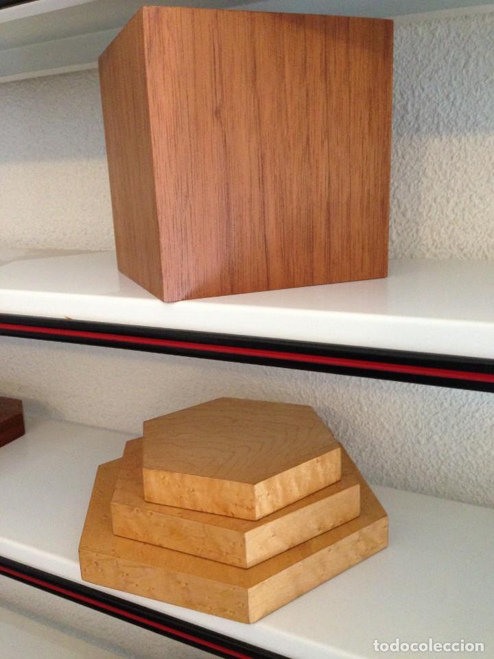 Varios objetos de Arte: Peanas de madera - Foto 3 - 266147833