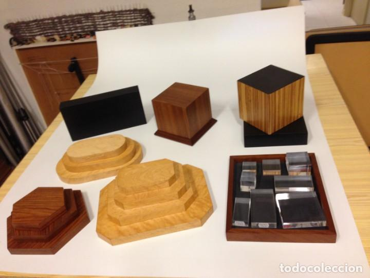 Varios objetos de Arte: Peanas de madera - Foto 6 - 266147833