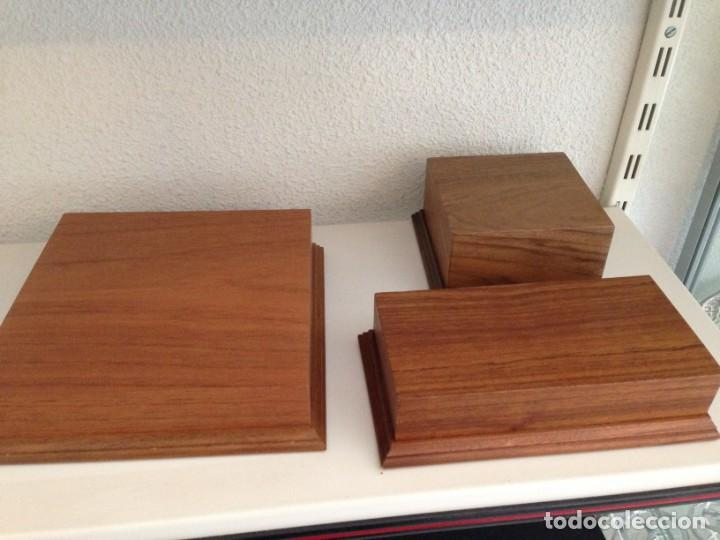 Varios objetos de Arte: Peanas de madera - Foto 8 - 266147833