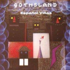 Varios objetos de Arte: CARTEL EXPOSICIÓN ESPAÑOL VIÑAS. AÑOS 80. GHOTSLAND. BARCELONA. 60X43 CM.. Lote 266749308