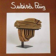 Varios objetos de Arte: CARTEL EXPOSICIÓN SUBIRÀ PUIG. 1990. GALERIA D'ART GÉNESIS. BARCELONA. 60X44 CM.. Lote 266750093
