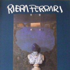 Varios objetos de Arte: CARTEL EXPOSICIÓN RIERA FERRARI. 1989. GALERIA D'ART GÉNESIS. BARCELONA. 60X44 CM.. Lote 266750313