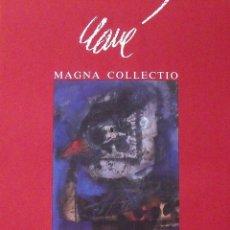 Varios objetos de Arte: CARTEL EXPOSICIÓN CLAVÉ. MAGNA COLLECTIO. 1989. GALERIA D'ART GÉNESIS. BARCELONA. 60X44 CM.. Lote 266750423
