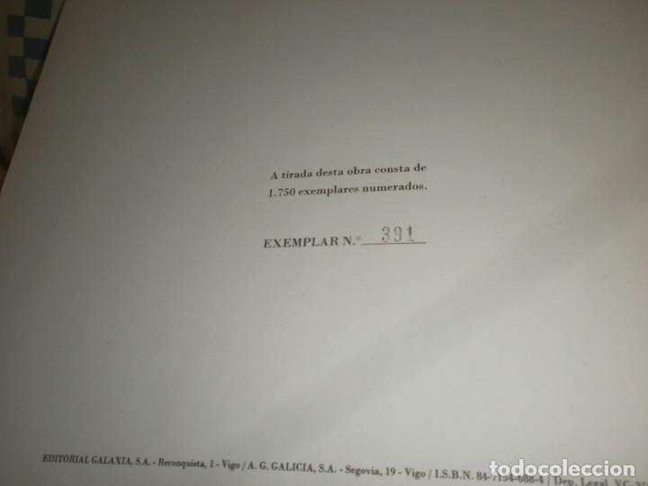Varios objetos de Arte: Castelao 12 Estampas Galaxia 1989 Museo Pontevedra edición numerada 371/1750 firmado Xosé Filgueira - Foto 7 - 267659294