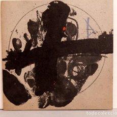 Varios objetos de Arte: TAPIES - GALERÍA JOAN PRATS 1979 - LITOGRAFÍA SOBRE CARTÓN. Lote 267898194