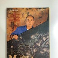 Arte: CÉSAR MANRIQUE CARPETA CON 72 LÁMINAS FORMATO 26X36 CM CON SU OBRA ARTÍSTICA.. Lote 268469704
