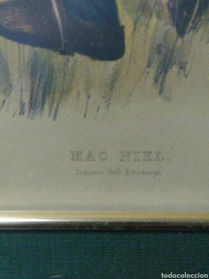 Varios objetos de Arte: Antiguo cuadro con lamina de soldado ,montado en pequeño caballito ,fiemado - Foto 4 - 269077083
