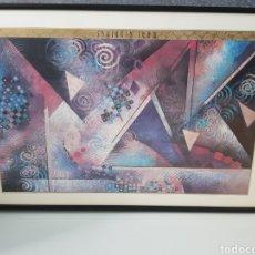 Varios objetos de Arte: MARI GIDDINGS CUADRO 94X63CM. Lote 269081703