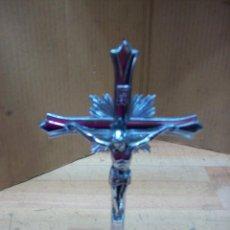 Varios objetos de Arte: CRUZ DE METAL. Lote 269249893