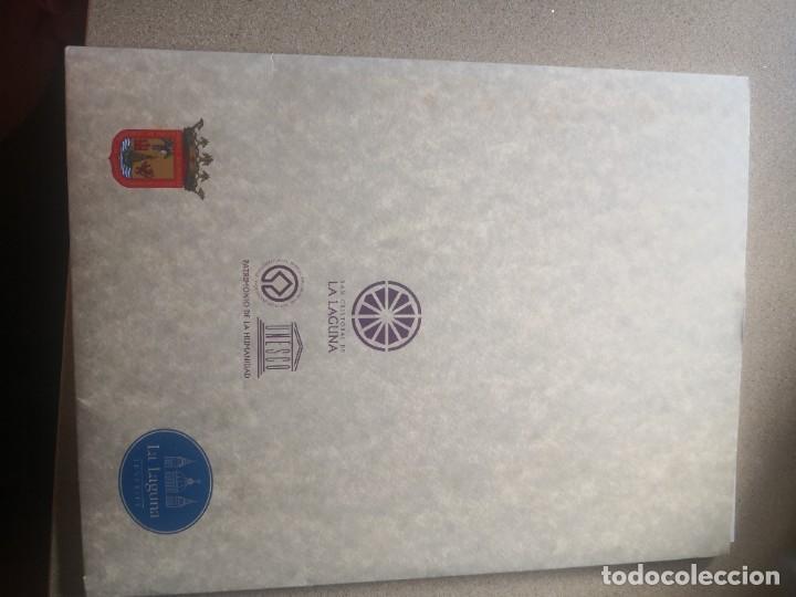 Varios objetos de Arte: Carpeta 12 láminas con nº 500/234 de la alcaldía la laguna A Pluma De José B. González - Falcón - Foto 2 - 271020498