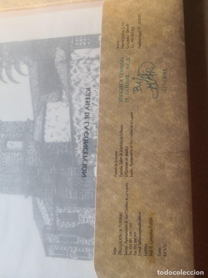 Varios objetos de Arte: Carpeta 12 láminas con nº 500/234 de la alcaldía la laguna A Pluma De José B. González - Falcón - Foto 4 - 271020498