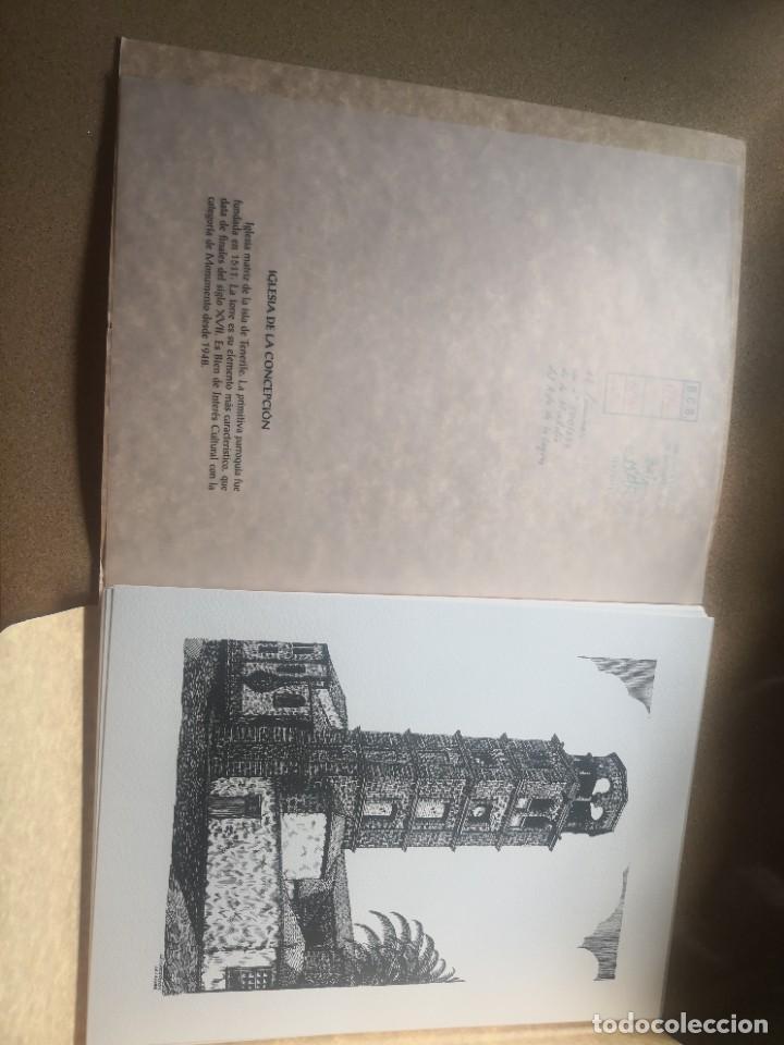 Varios objetos de Arte: Carpeta 12 láminas con nº 500/234 de la alcaldía la laguna A Pluma De José B. González - Falcón - Foto 6 - 271020498