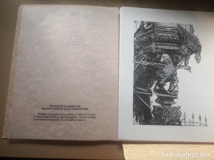 Varios objetos de Arte: Carpeta 12 láminas con nº 500/234 de la alcaldía la laguna A Pluma De José B. González - Falcón - Foto 8 - 271020498