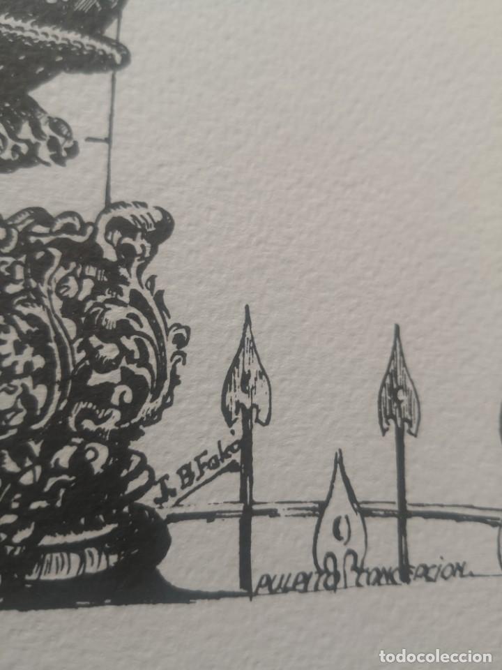 Varios objetos de Arte: Carpeta 12 láminas con nº 500/234 de la alcaldía la laguna A Pluma De José B. González - Falcón - Foto 12 - 271020498