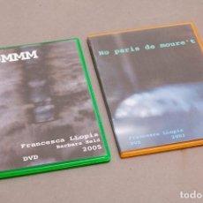 Varios objetos de Arte: FRANCESCA LLOPIS - 2 DVD OBRA ORTISTICA 2003-2005 - HOMMM - NO PARIS DE MOURET. Lote 271425748