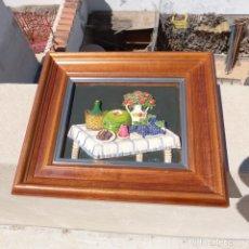 Varios objetos de Arte: BODEGON EN RELIEVE FIRMADO FORNES. Lote 271857028
