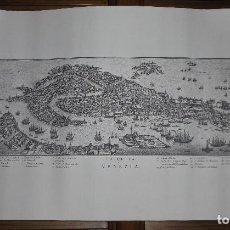 Varios objetos de Arte: REPRODUCCIÓN GRABADO CIUDAD DE VENECIA - LA CITTA DI VENEZIA. Lote 272004318