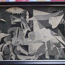 Varios objetos de Arte: CUADRO GUERNICA PICASSO - 78 CM X 37 CM. Lote 273526138