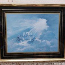 Varios objetos de Arte: CUADRO ANTIGUO SANTA CENA. Lote 273910553