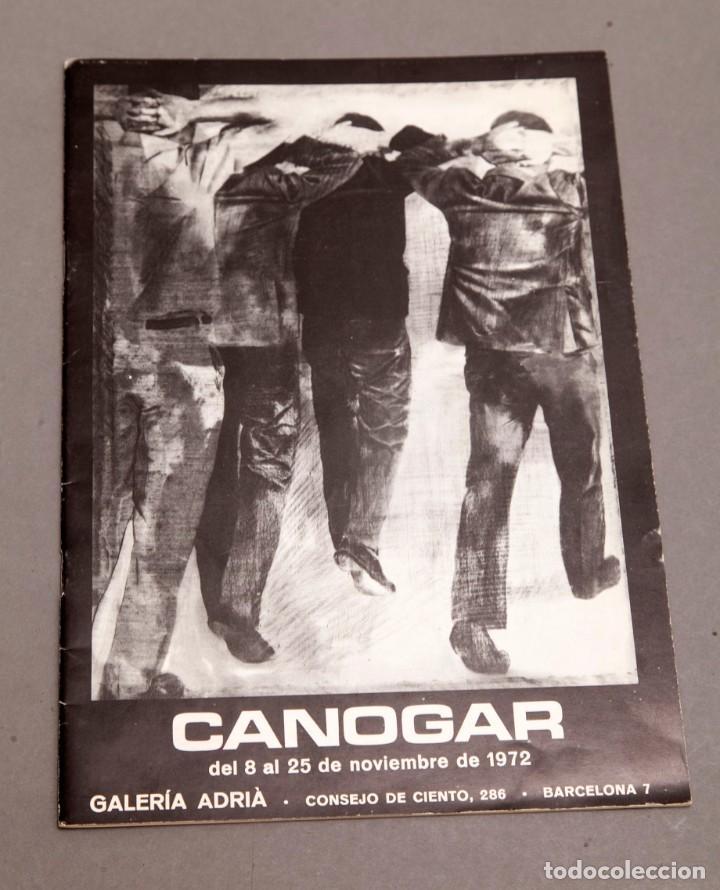 CANOGAR - GALERIA ADRIA - 1972 (Arte - Varios Objetos de Arte)