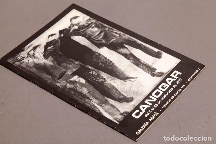 Varios objetos de Arte: CANOGAR - GALERIA ADRIA - 1972 - Foto 2 - 274798168