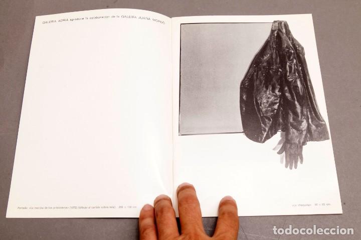 Varios objetos de Arte: CANOGAR - GALERIA ADRIA - 1972 - Foto 3 - 274798168