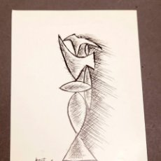 Varios objetos de Arte: ANGEL FERRANT - JOAN BROSSA - 1980. Lote 274799388