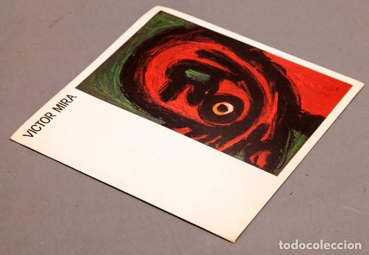 Varios objetos de Arte: VICTOR MIRA - JOAN PRATS - 1985 - Foto 2 - 274841528