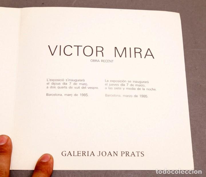 Varios objetos de Arte: VICTOR MIRA - JOAN PRATS - 1985 - Foto 3 - 274841528