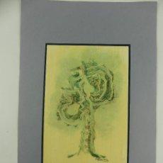 Art: EXCELENTE OBRA DE ARTE FIRMADA A.DIAZ DE CERIO. Lote 275550508