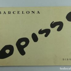 Art: OPISSO DIBUIXOS BARCELONA EDICION LIMITADA NUMERO 399 DE 2000. Lote 275552583