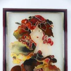 Art: INTERESANTE CUADRO TIPO TIFANI EXCELENTE OBJETO DE DECORACION. Lote 275657353