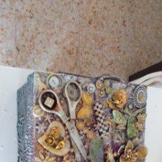 Varios objetos de Arte: CAJA JOYERO ARTESANAL. Lote 275868893