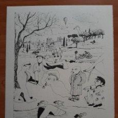Art: ILUSTRACIÓN GRÁFICA DE RAMON SUNYER. Lote 276093278
