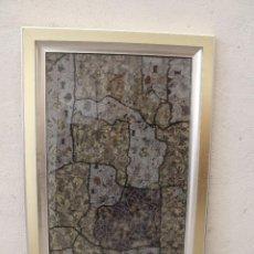 Varios objetos de Arte: CUADRO ARTE CON TELA. Lote 276703838