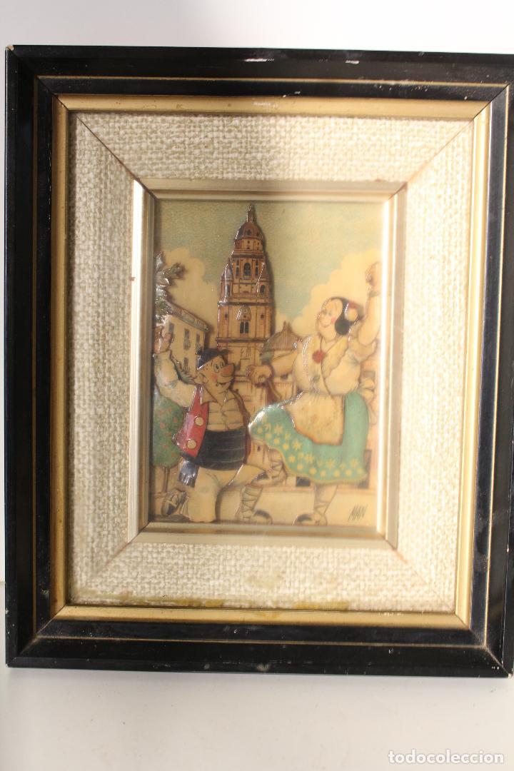 Varios objetos de Arte: man, tio pencho - murcia - original firmado carton piedra - Foto 3 - 276983453