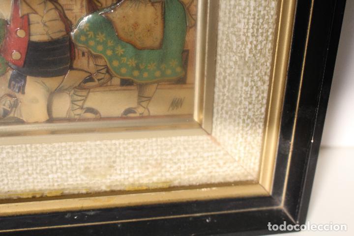 Varios objetos de Arte: man, tio pencho - murcia - original firmado carton piedra - Foto 4 - 276983453
