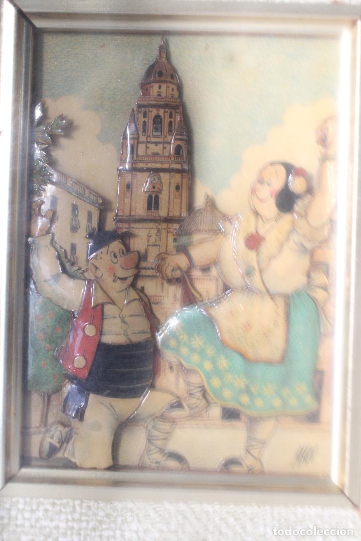 Varios objetos de Arte: man, tio pencho - murcia - original firmado carton piedra - Foto 5 - 276983453