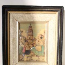 Varios objetos de Arte: MAN, TIO PENCHO - MURCIA - ORIGINAL FIRMADO CARTON PIEDRA. Lote 276983453