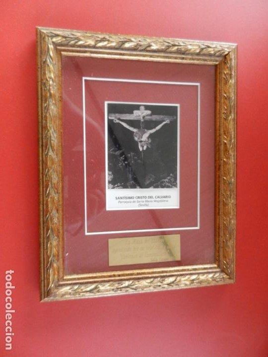 SANTÍSIMO CRISTO DEL CALVARIO - P. STA. Mª MAGDALENA - SEVILLA - CERTAMEN DE CAMPANILLEROS - 2001. (Arte - Varios Objetos de Arte)