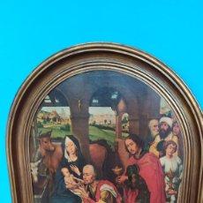 Varios objetos de Arte: CUADRO IMAGEN NACIMIENTO DE EPOCA. Lote 277010938