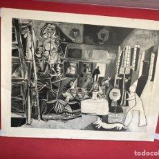 Varios objetos de Arte: LAS MENINAS DE PABLO PICASSO • RÉPLICA DE ALTA CALIDAD EN EDICIÓN LIMITADA • 100 X 70 CM. Lote 277063333