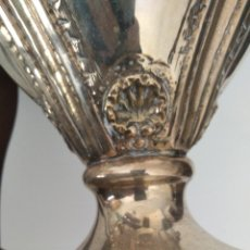 Varios objetos de Arte: BANDEJA Y JARRAS PLATA MORUNA. Lote 277067083