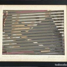 Varios objetos de Arte: CUADRO DE JORDI PERICOT, AÑO 1968. Lote 277115333