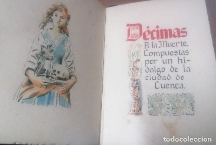 Varios objetos de Arte: Zacarías González. Décimas a la Muerte, compuestas por un hidalgo de la ciudad de Cuenca - Foto 6 - 277835718