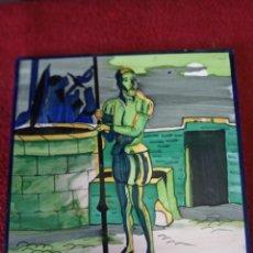 Varios objetos de Arte: AZULEJOS DE TALAVERA. Lote 278203513