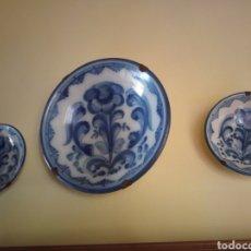 Varios objetos de Arte: CERÁMICA DE TALAVERA S,XLX,. Lote 278204153